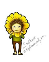 Sunflower by DayDreamingLolly
