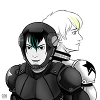 Starfighter/Pacific Rim AU by Clashe