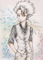 Bleach: Hitsugaya Toshiro 2 by Angels-Leaf