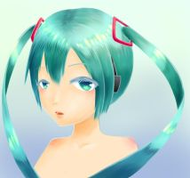clear MIKU by saTen0w0
