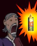 Sheogorath Discovers Spray Cheese by KABren