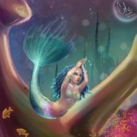 In the Depths of the Sea 8-9-8 by nikki-marie