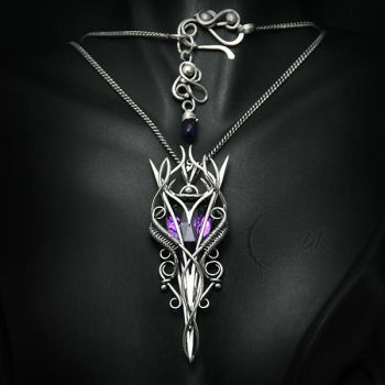 AMETUVILTH - silver and amethyst by LUNARIEEN