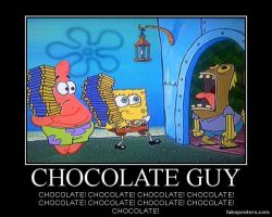 Spongebob Squarepants Chocolate Guy by Onikage108