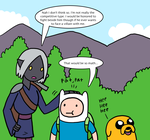 Adventure Time OC asks: Rivalry? Animated by The-Clockwork-Crow