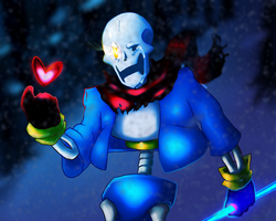 Disbelief Papyrus- I Don't Believe in You Anymore by Meow101XD