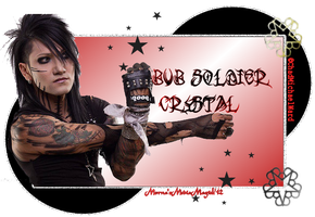 Ashley Purdy Soldier Tag by MornaStar