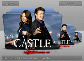 Castle TV Serie Folder Icon by atty12