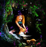 Little Witch by aninur