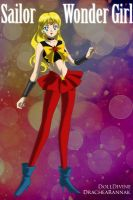 +Young Justice Scouts+ Sailor Wonder Girl by phoenixtsukino