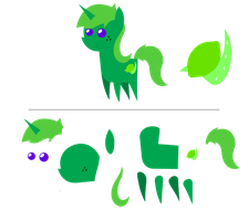 Pointy Ponies: Lime Dream by EStories
