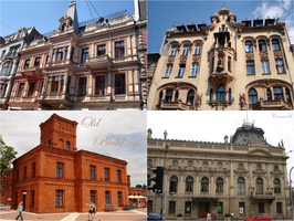 Old Buildings pack2 by Comacold-stock