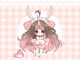 [ADOPT]: Unicornia Soft Pink Wish (CLOSED) by deichuu