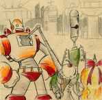 Robot Parade - insert by Mr-DNA