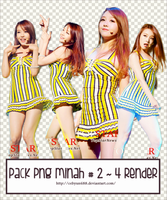 PACK PNG MINAH #2 ~ 4 RENDER by CeByun688