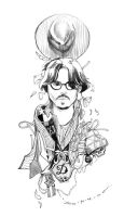 Johnny Bookmark 1-4 by amoykid