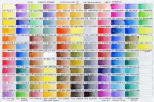 Neocolor II Color Chart by pesim65