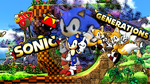 Sonic Generations Wallpaper by GEEKFOREVER3