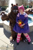 Annie and Tibbers by FarorePhotography