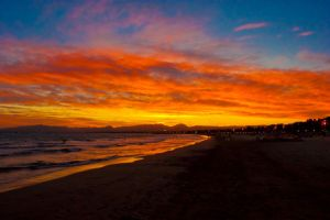 Sunset in Salou 2 by libra-dreamer