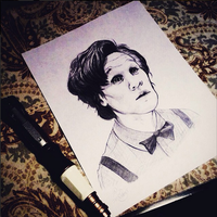 Matt Smith as the Doctor (Doctor Who) by ieindigoeast