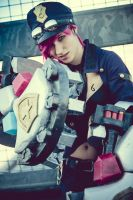 Officer Vi Cosplay by FairyScarlet