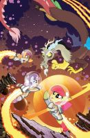 MLP FriendsForever #2 Jetpack Cover by TonyFleecs