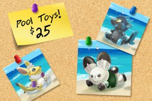 Pool Toys Special! by Robo-Shark