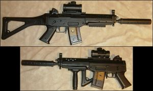M-82 Assault Rifle + Silencer by FantasyStock