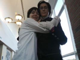 Claude Faustus and Me (Admin) by TraumatizedM-aster