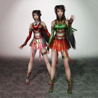 Dynasty Warriors 8 Guan Yinping by ArmachamCorp