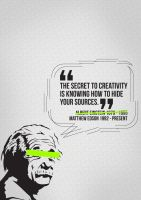 The Secret To Creativity by MattEdson