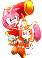 Amy and Cream Chseese by Omiza