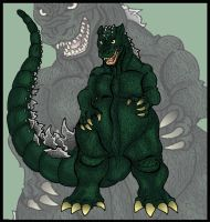 Godzilla: King of the Monsters by theRedDeath888