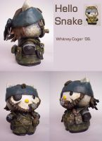 Hello Snake ...by:badwhitney by metalgearsolidfans