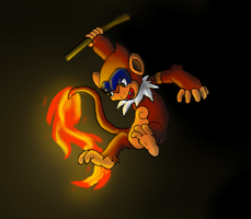 Tail Flame by dragonluva365