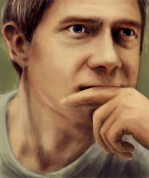 Martin Freeman. by fairynest