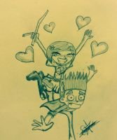 Coraline x norman .... Norman ruuuun by coralineXnorman