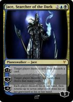 Jace, Searcher of the Dark by panahinuva