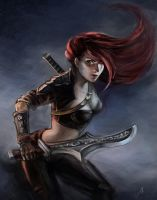 Sinister Blade by jellyxbat