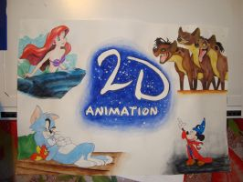 2D Animation Poster by Victoria-M