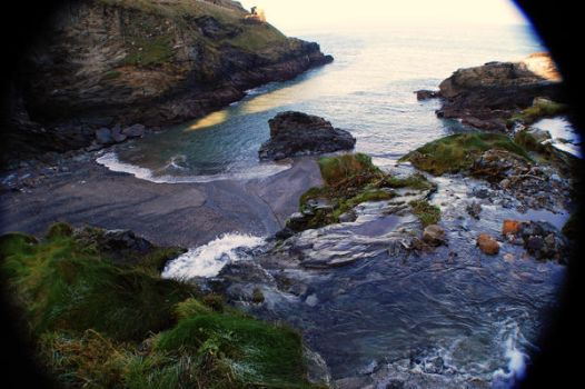 Tintagel by little-square-clouds