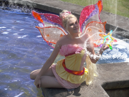Winx Club Harmonix Stella Cosplay by KatyrinaMK