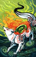Okami by michellescribbles