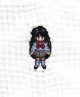Rei Cross Stitch by JealaTriumph