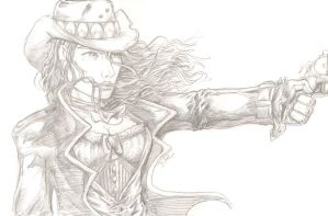 Crow Jane pencils 3 by yosarian13
