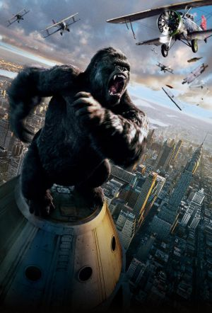 King Kong (2005) [Hi-Res Textless Poster] by ihaveanawesomename