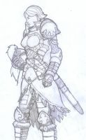Another Girl in Armour by z00tz00t