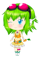 Chibi GUMI by Pencil13