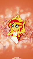 WOTW: sunset shimmer iPhone 5 wallpaper by shaynelleLPS